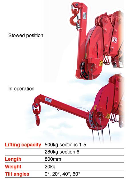 URW-376 Searcher Hook