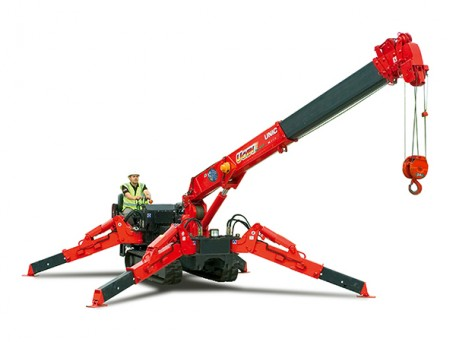 UNIC URW-376 mini spider crane