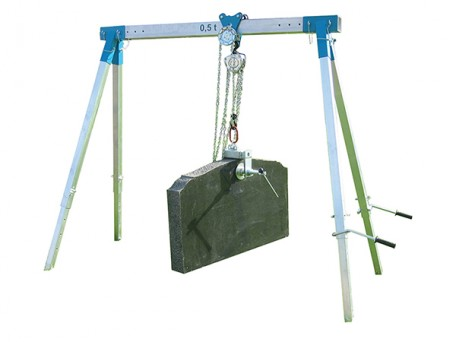 Mini Gantry Crane & Screw Clamp