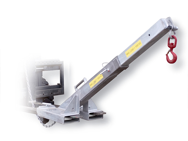Angled Fork Lift Attachment