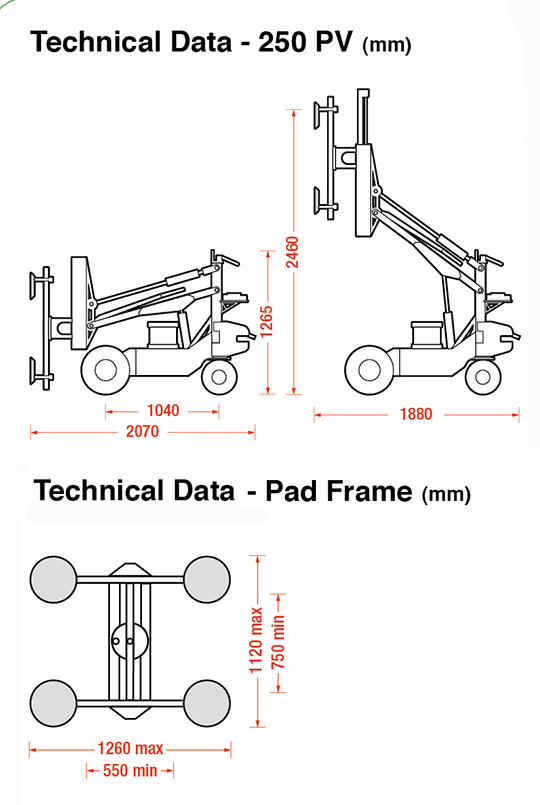 Geko PV dimensions