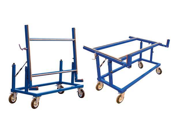 Glass cart for Sheet goods cart