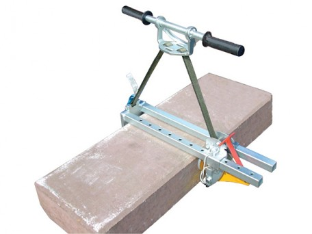 The Kerb Stone Block Clamp is a popular choice with stone masons and building contractors