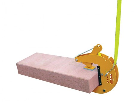 Serrated Stele Clamp to suit different slab, kerb and stone thicknesses