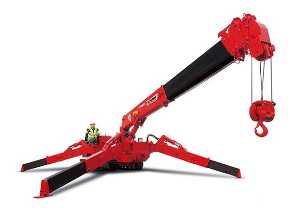 UNIC URW-506 mini spider crane