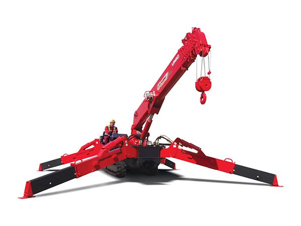 URW-547 mini spider cranes