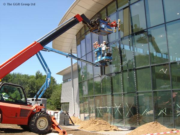 HOMER Glazing Robot - Glass Handling Robot