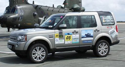 ggr rallies support for help for heroes 4x4 european challenge. Black Bedroom Furniture Sets. Home Design Ideas