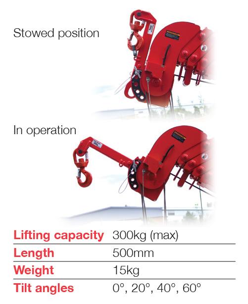 Unic URW-295 Searcher Hook