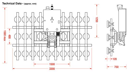 Ultra-Clad 1000 Dimensions