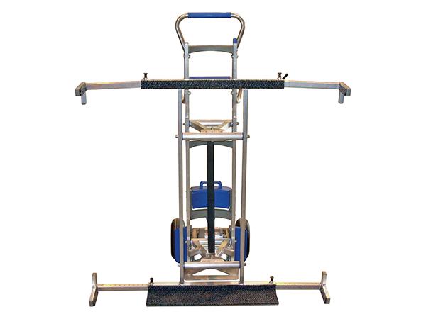 Glass Porter 170 - lightweight motorised stair climbing trolley