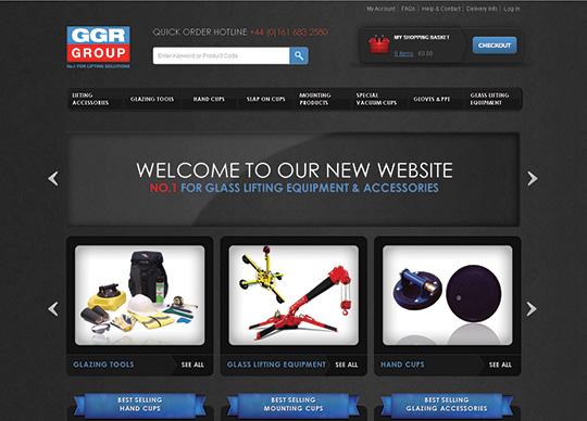 GGR Glass homepage