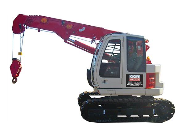 Telescopic Crane Hire : Mini crawler crane mcc