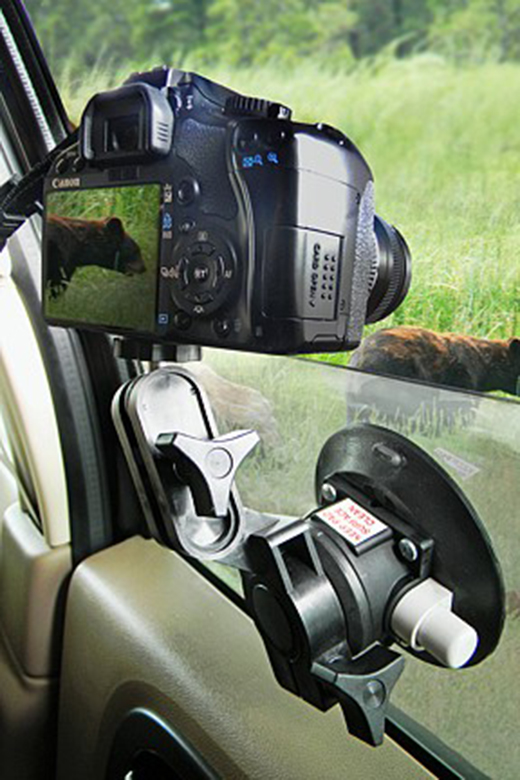 Cleat camera mount