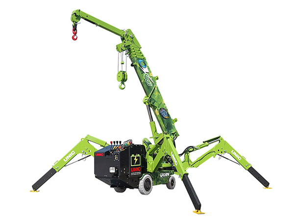 UNIC Eco-095 mini spider crane