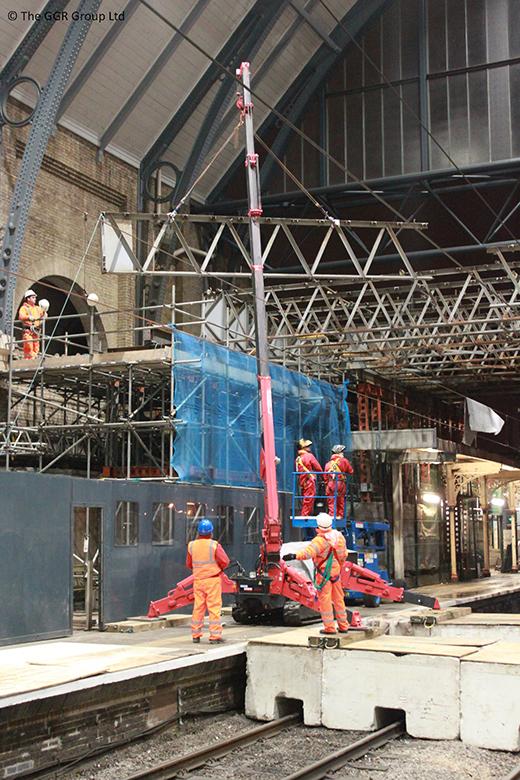 GGR Rail at Kings Cross - NAD project