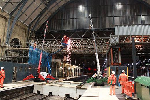 Kings Cross NAD being dismantled