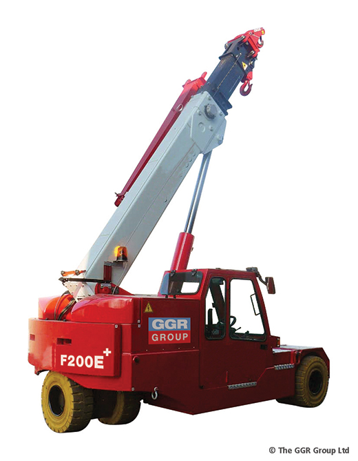 Galizia F200E Plus zero emissions pick and carry crane