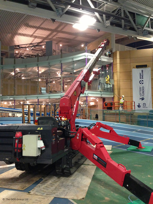 UNIC URW-706 at English Institute of Sport - Sheffield