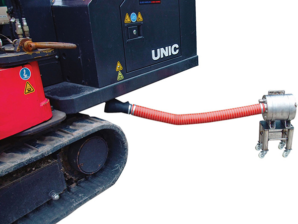 Reduce particulate matter in confined spaces with the Compact scrubber
