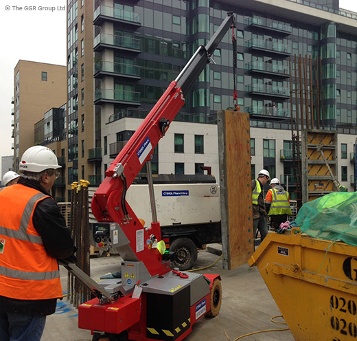 O'Shea buy four G20 pick and carry cranes