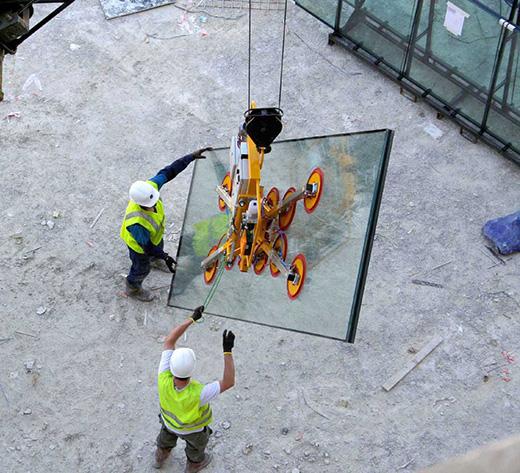 Quad-circuit Kombi 1125kg capacity lifter