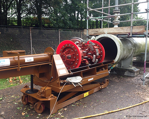 Pipe cleaning pig winch pictures to pin on pinterest