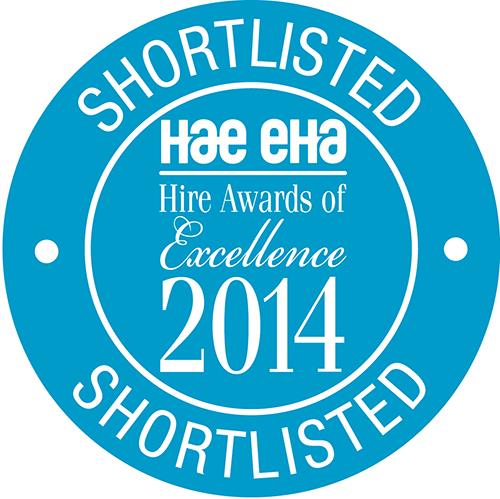 Hire Awards 2014 Shortlisted