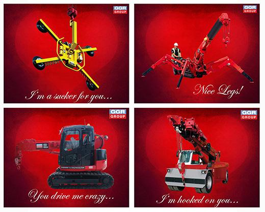 GGR Valentine's cards
