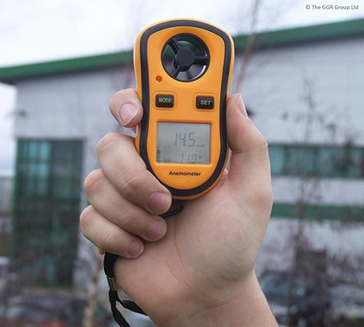 GGR Safety Guide GGR Anemometer