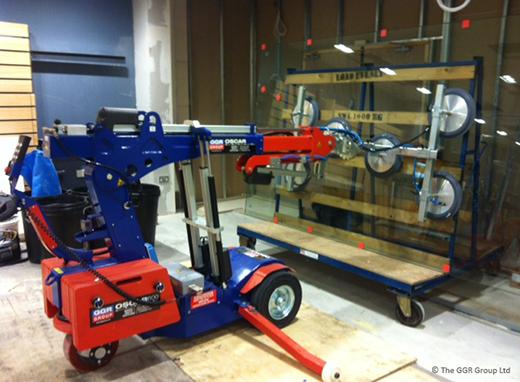 Oscar robot at Cambridge shopping centre