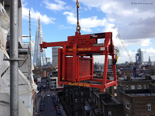 Libro 850 used with tower crane