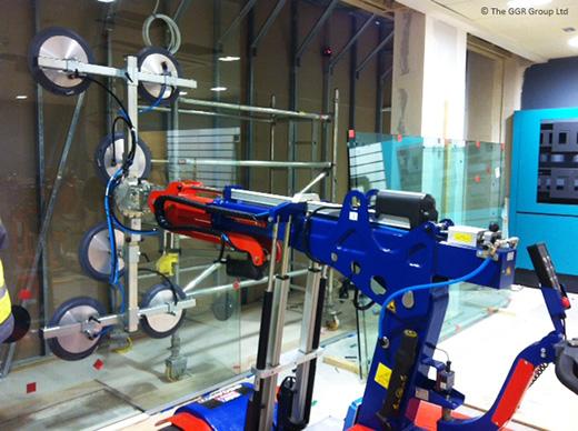 Oscar glazing robot