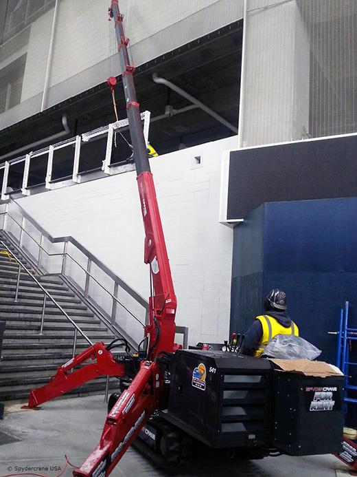 UNIC URW-376 at New York Yankees stadium