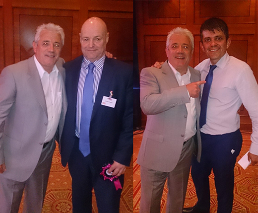 GGR's Mike and Paul with Kevin Keegan