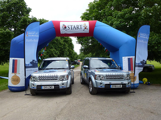 Help for Heroes 4x4 European Rally