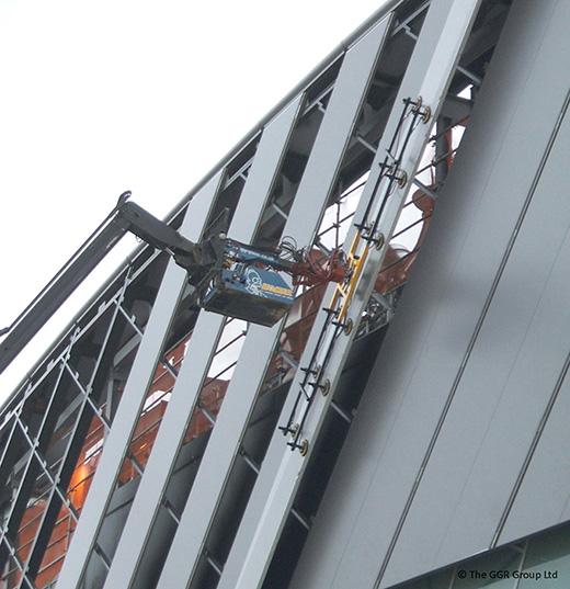 HOMER high level glazing robot
