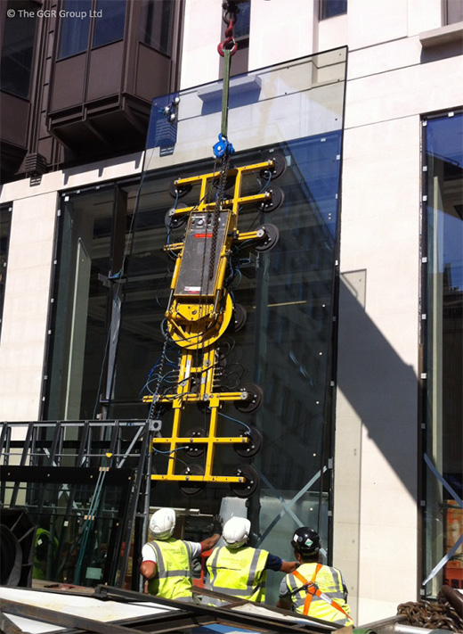 GGR's Hydraulica vacuum lifter  2000kg capacity