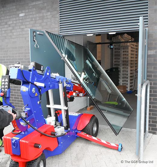 Oscar robot at Edgbaston cricket ground