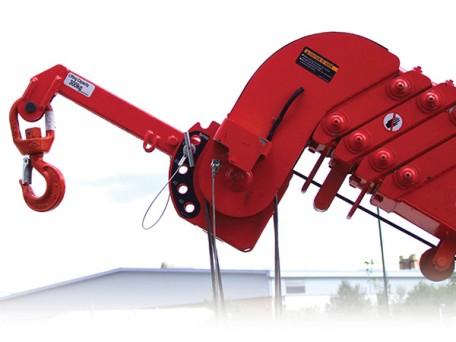 UNIC URW mini spider crane 300kg searcher hook