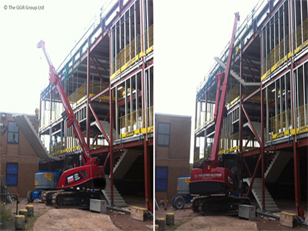 West Midlands School Staircase Mini Crawler
