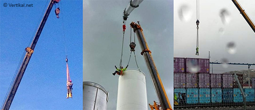More crane acrobatics