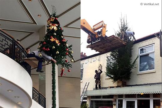 Christmas tree installations