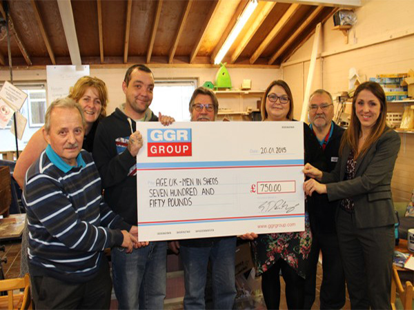 GGR Charity Men in Sheds Donation