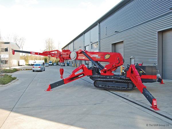 GGR UNIC Spider Crane 1000kg fly jib