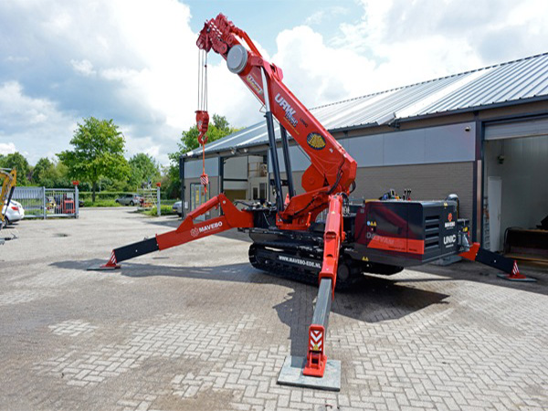 GGR URW-1006 Spider Crane International Sale