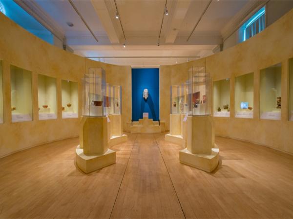 Maya Exhibit Floor Crane Liverpool World Museum