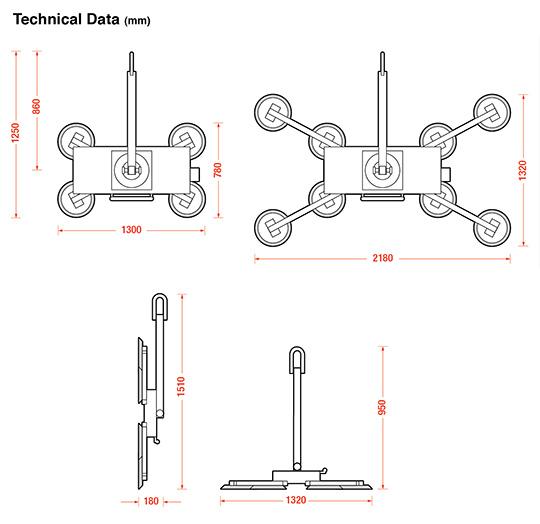 DSZ2 standard dimensions