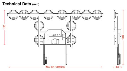 Kombi 7001-ABs dimensions