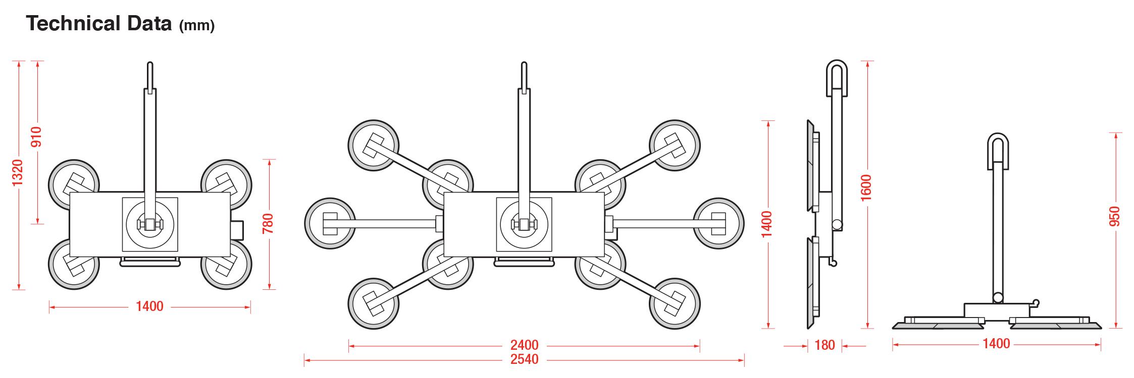 DSZ2 L Technical Data - Dimensions